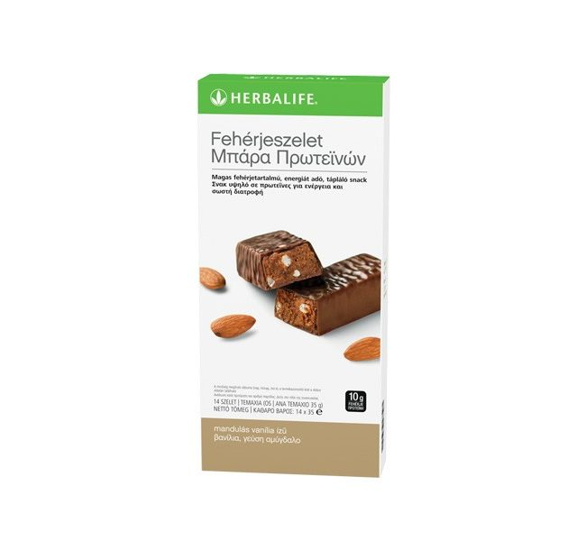Μπάρες Πρωτεΐνης Herbalife Γεύση Βανίλια Αμύγδαλο