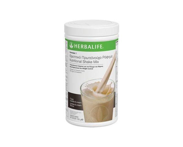 Ρόφημα Nutrition Shake Mix Γεύση Cookies & Cream