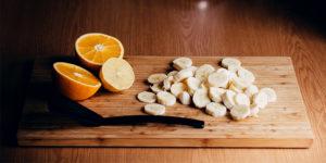 Σέϊκ Χυμού Πορτοκάλι Με Μπανάνα