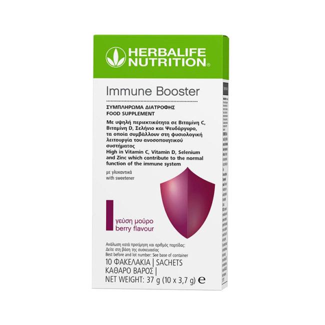 Immune Booster – Μούρο 10 Φακελάκια x 3,7g